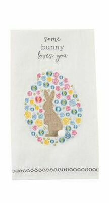 MP Embroidered Towels - Some Bunny