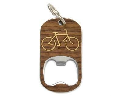 Key Chain Bottle Opener - Bike
