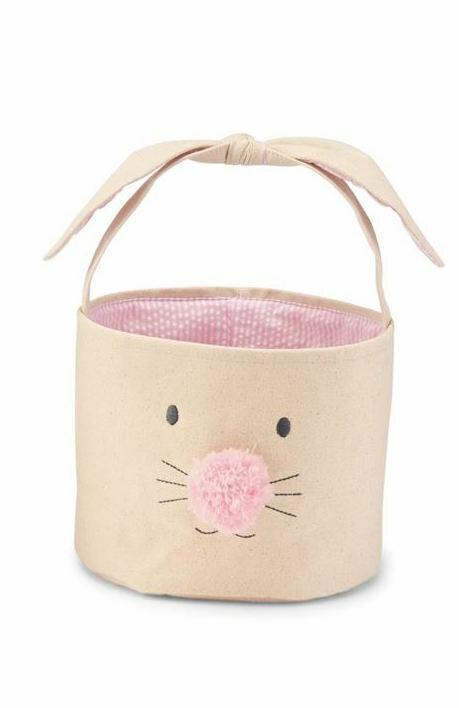 MP Bunny Face Easter Basket Large - pink