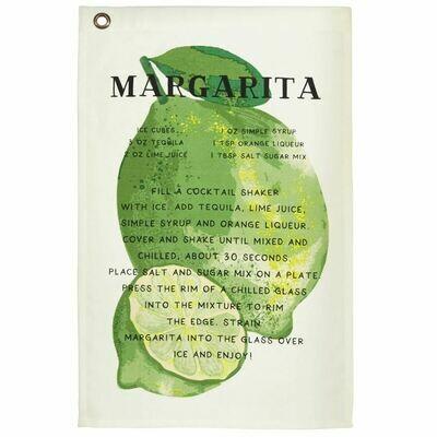 Margarita Drink Recipe Towel