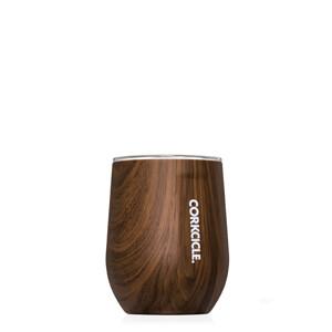 Stemless wine glass - Walnut Wood