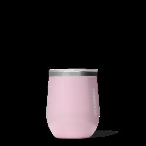 Stemless wine glass - Rose Quartz