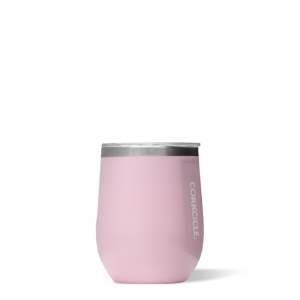 Corkcicle Stemless wine glass - rose quartz