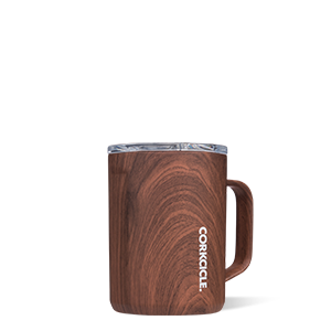 Mug 16oz - walnut wood
