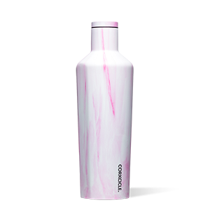 Canteen 25 oz - Pink Marble