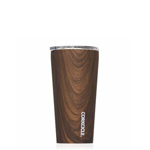 Tumbler 16oz - Walnut Wood