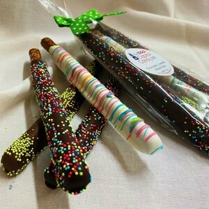 Chocolate Covered Pretzels - Easter