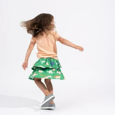 Dino Ruffle Skirt