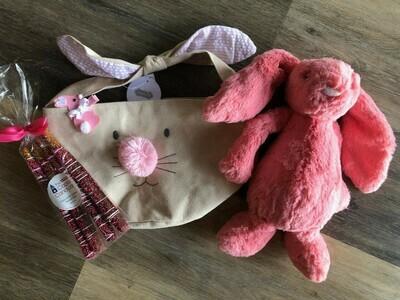 Kid's Easter Basket - Pink