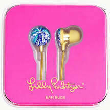 Lilly Pulitzer Earbuds - Wave after Wave