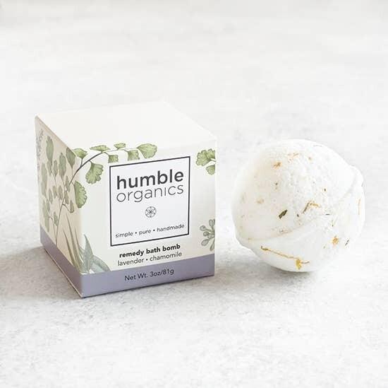 Remedy Bath Bomb - Lavender & Chamomile
