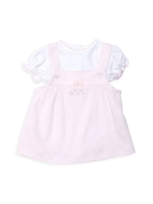 Kissy Bunny Buzz Overall Pink