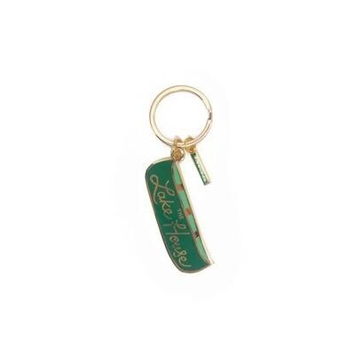 Lake House Key Chain