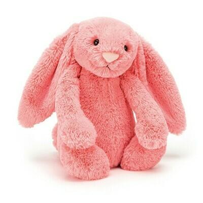Bashful Bunny Coral Medium
