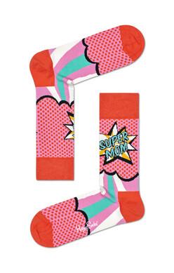 HS Women's Combed cotton socks - Super Mom