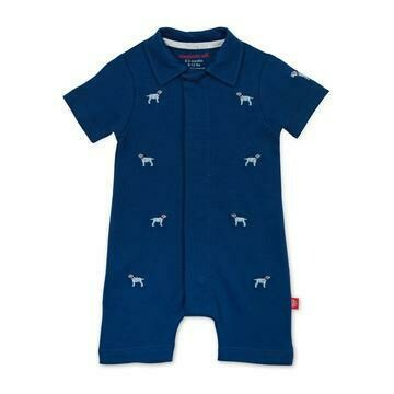 Best in Show Polo Romper