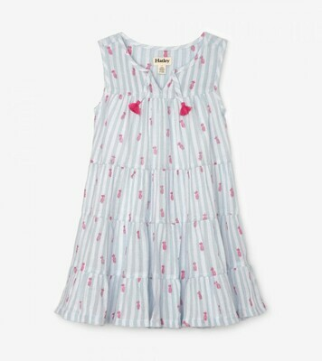 Hatley Party Pineapples Tiered Dress