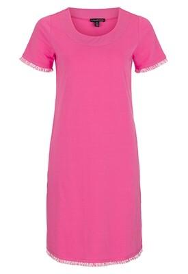Tribal Hot Pink Fringe Dress