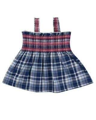 Lilly & Sid Reversible Check Sundress