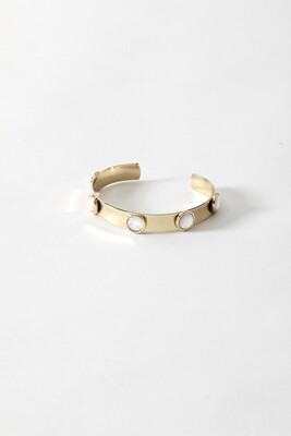 SecondDaughter Skinny Perish Mother of Pearl Cuff