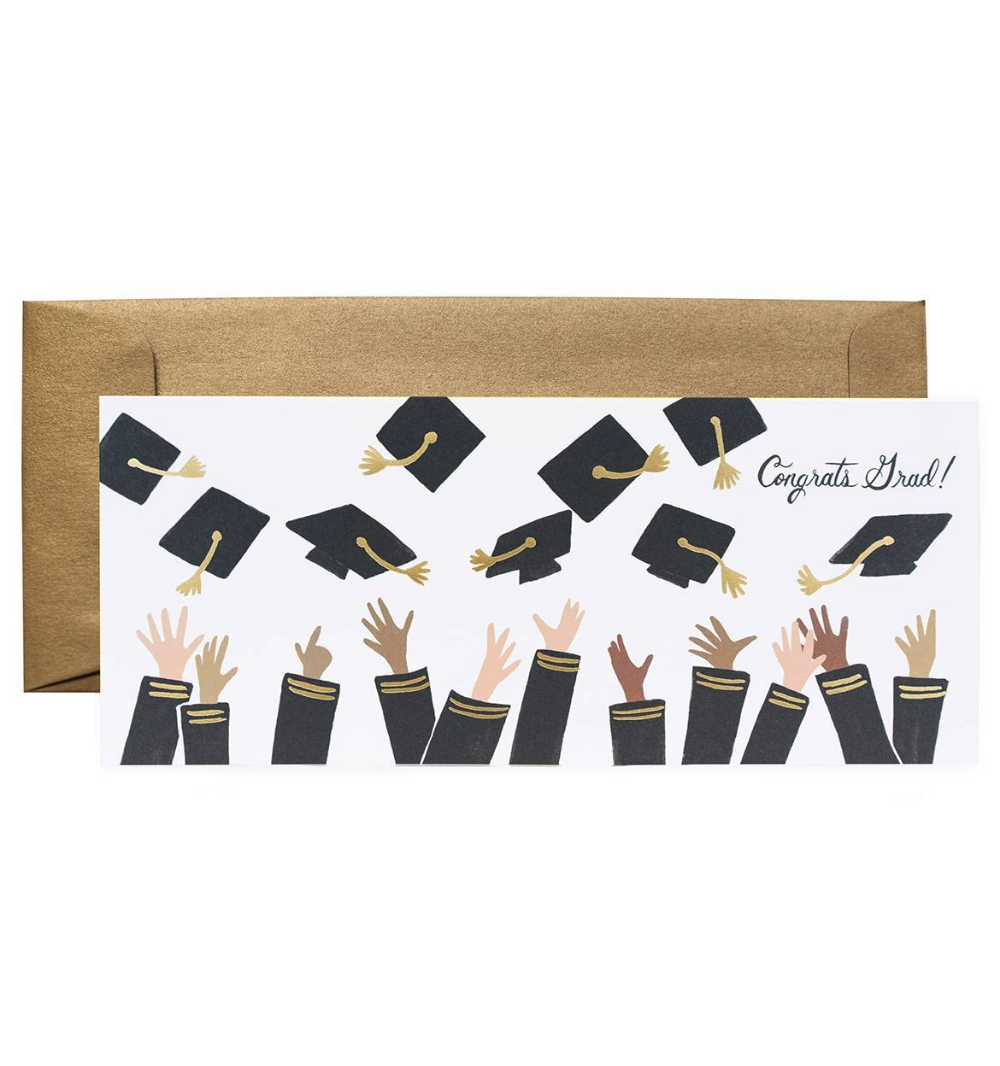 Rifle paper grad card