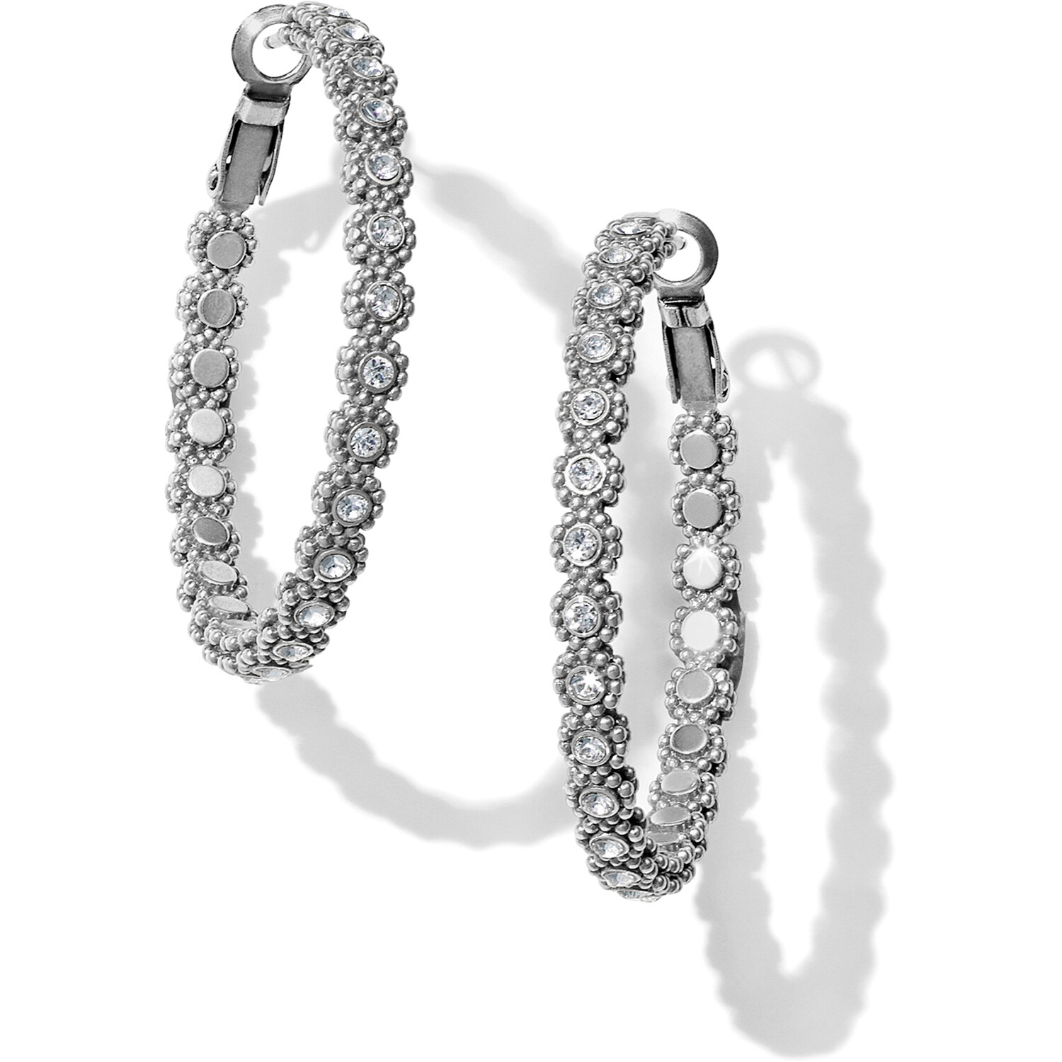 Brighton Twinkle Splendor Medium Hoop Earring