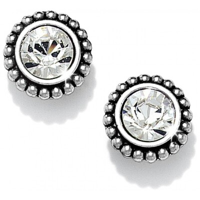 Brighton Medium twinkle earrings - crystal