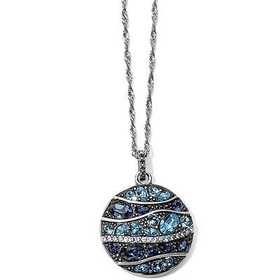 Brighton Trust Your Journey Wave Pendant