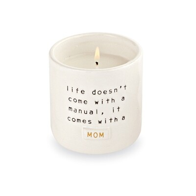 Mom boxed Candle - life