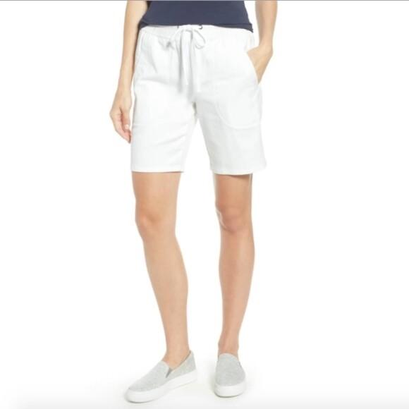 Nic + Zoe Paper white shorts - 6