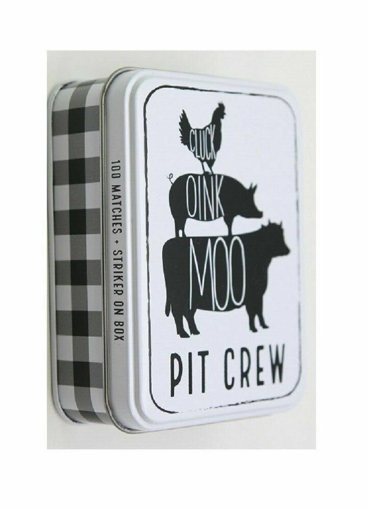 Tin Matchbox set - animals