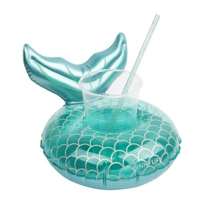 Drink Holder Float - Mermaid