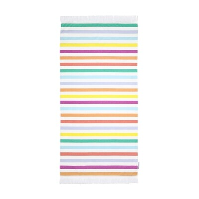 Fouta Beach Towel - Block Party