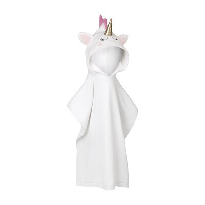Kids Hooded Beach Towel - Unicorn