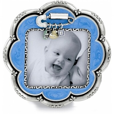 Brighton baby love frame - blue