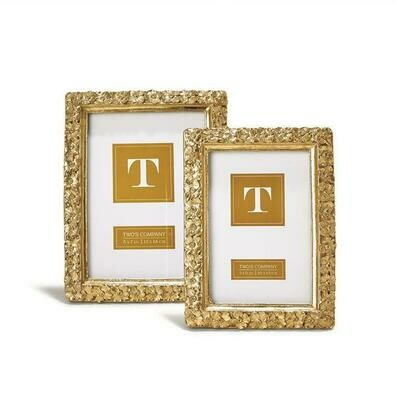 Gold Flower Frame - 4x6
