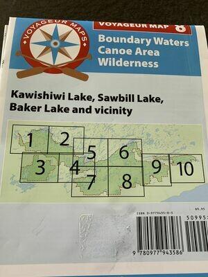 9780977943586 - #8: Kawishiwi, Sawbill, Baker