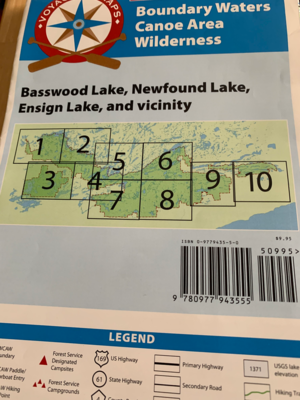 9780977943555 - #5: Basswood, Newfound, Ensign