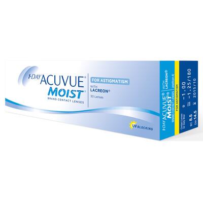 1-DAY ACUVUE® MOIST 30 LENS BOX