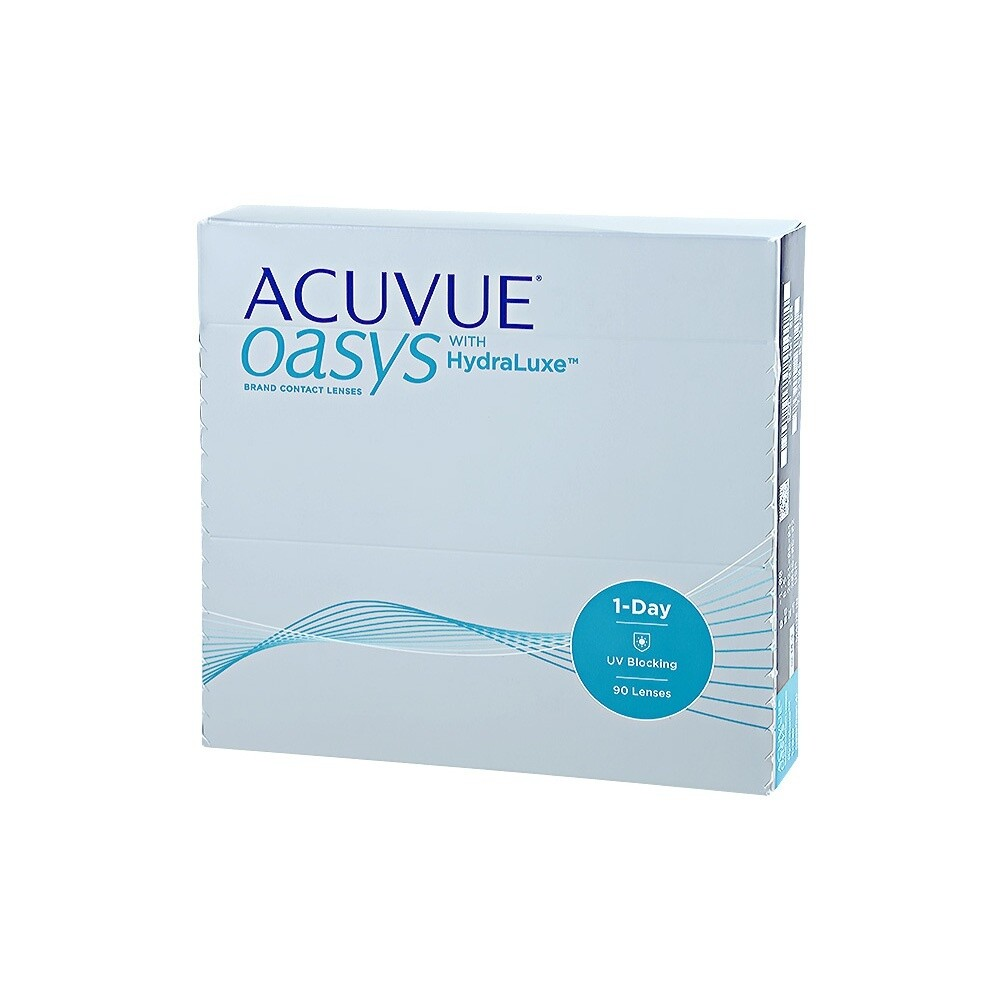 ACUVUE OASYS® 1-Day with HydraLuxe™ 90 LENS BOX