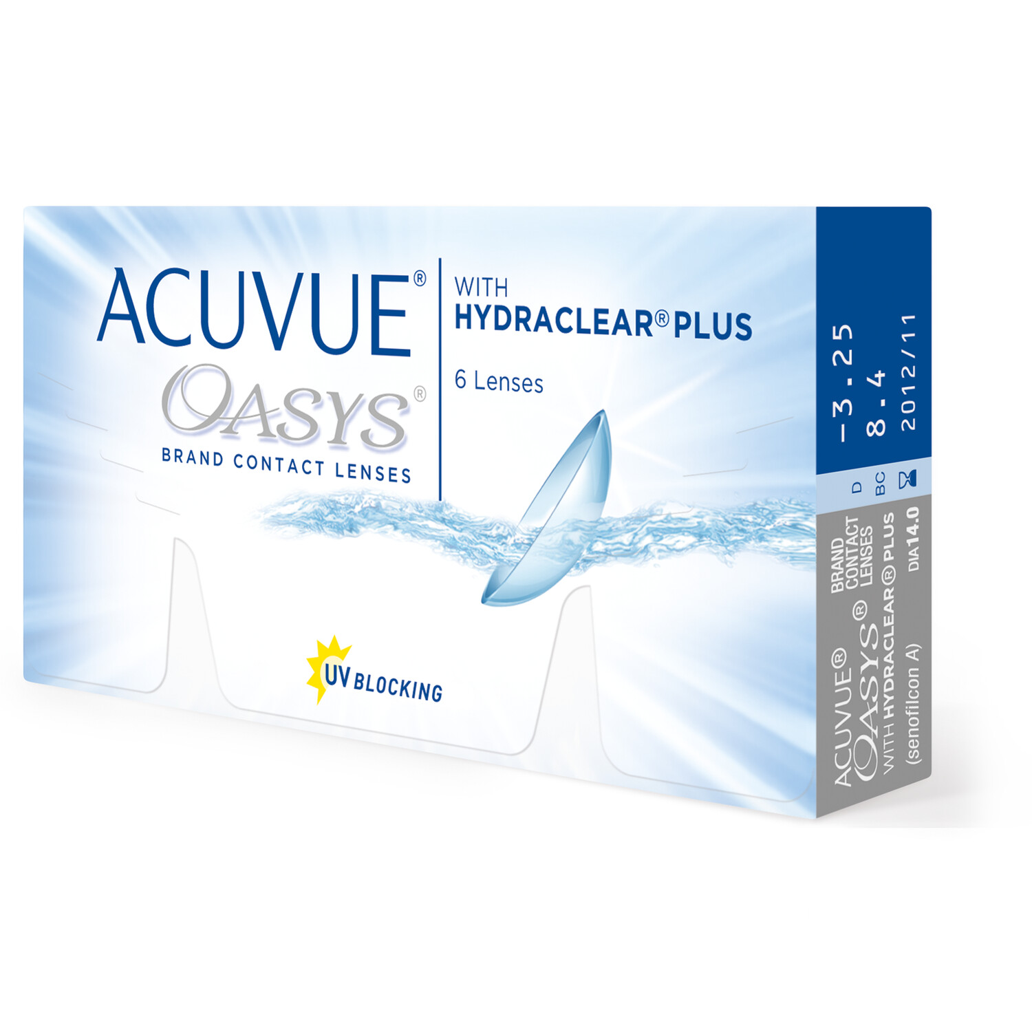 ACUVUE OASYS® 12 LENS BOX