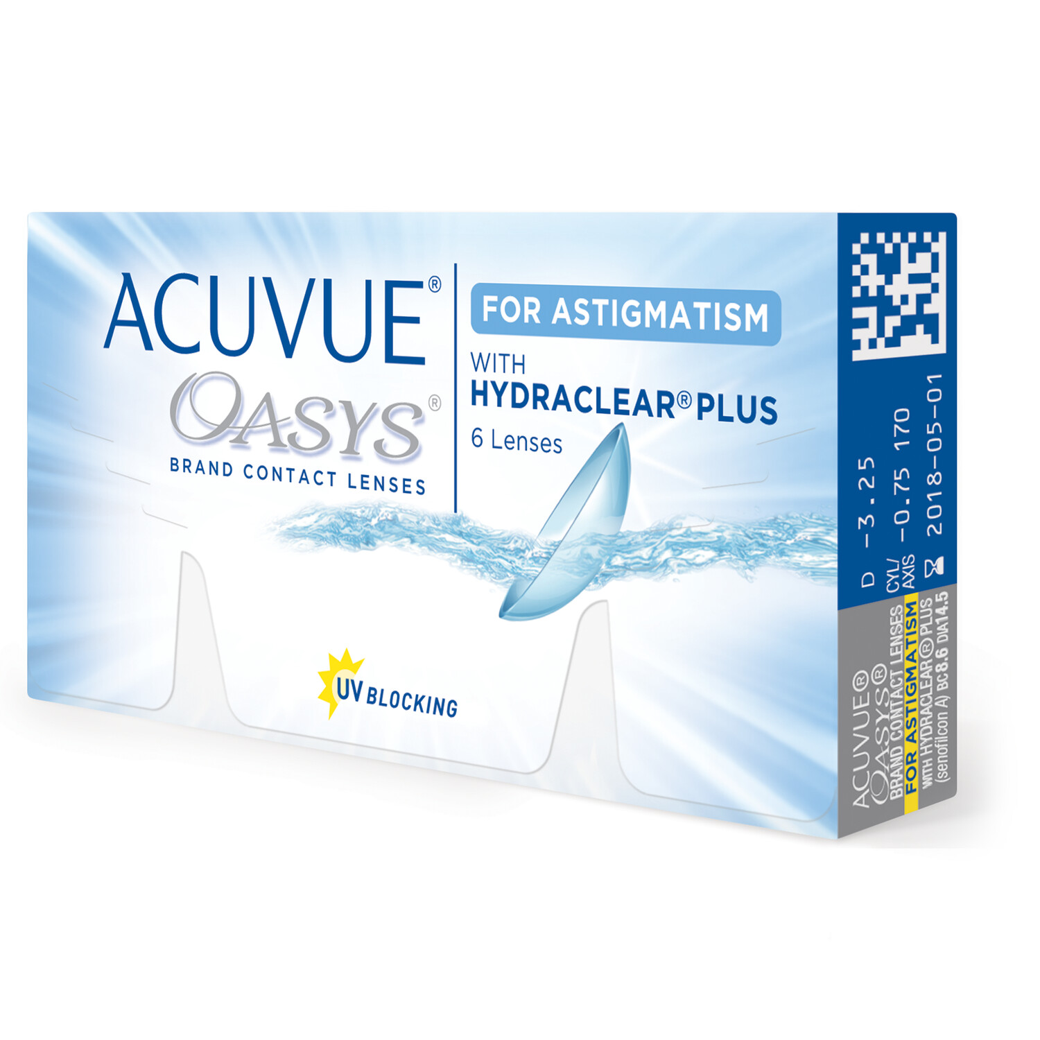 ACUVUE OASYS® for ASTIGMATISM 6 LENS BOX