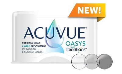 ACUVUE OASYS® with Transitions 6 LENS BOX