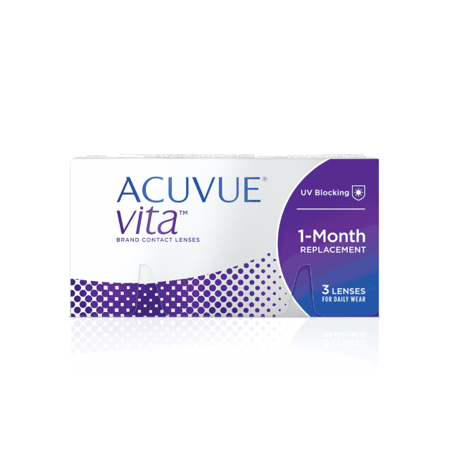 ACUVUE® VITA™ with HydraMax™ Technology 3 LENS BOX