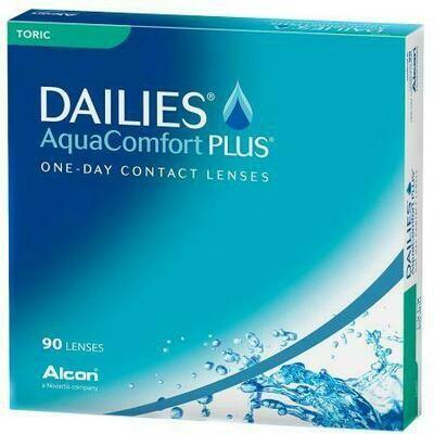 DAILIES® AquaComfort PLUS® TORIC 90 LENS BOX