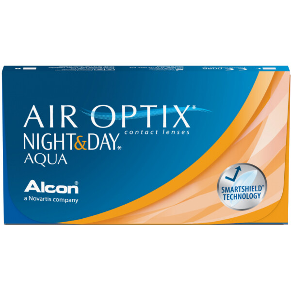 AIR OPTIX® NIGHT & DAY® AQUA 3 LENS BOX