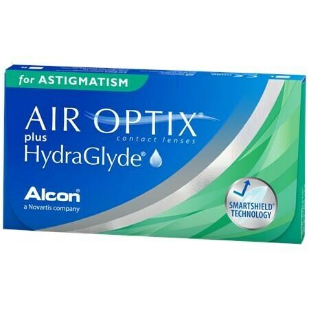 AIR OPTIX® plus HydraGlyde® for ASTIGMATISM 3 LENS BOX