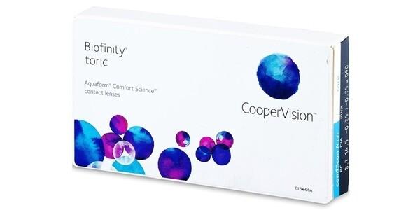 Biofinity® toric 6 LENS BOX