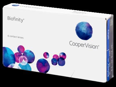 Biofinity® 6 LENS BOX
