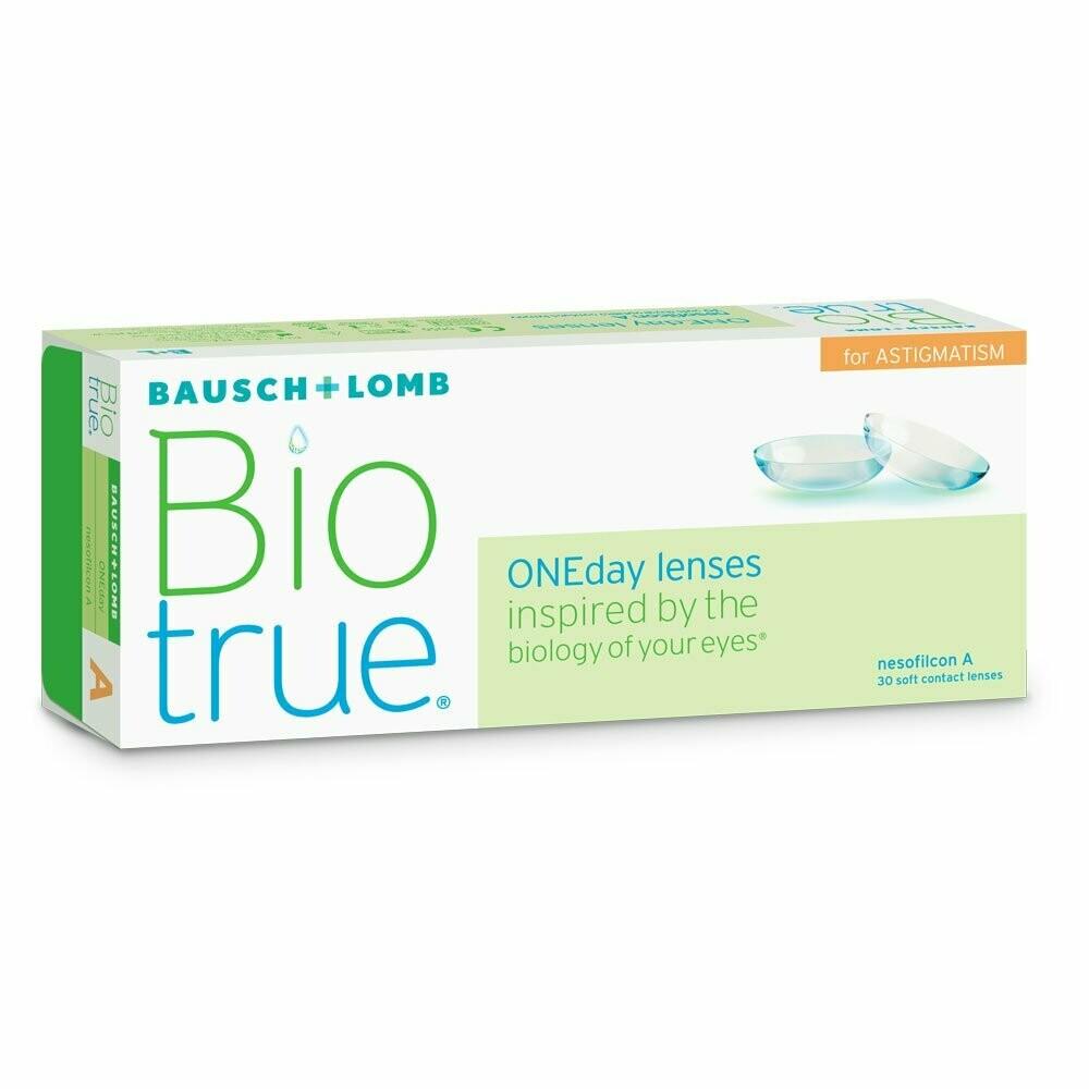 Biotrue® ONEday for Astigmatism 30 LENS BOX
